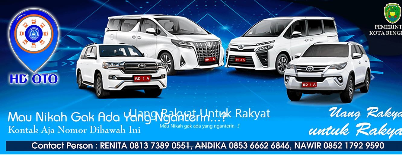 Mobil dinas Walkot Bengkulu untuk acara pernikahan warga (dok. Istimewa)