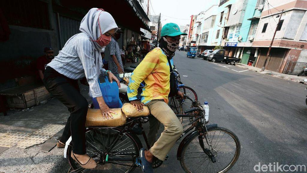 Tak Disentuh Aturan Baru, Ojek Sepeda Masih Bisa Berseliweran