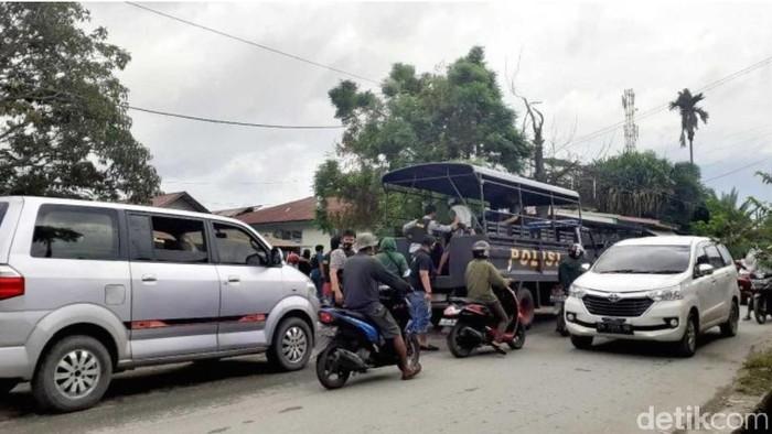 Penggerebekan narkoba di Palu Sulteng (Qadri-detikcom).