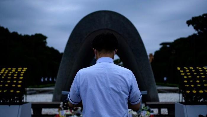 Peringatan 75 tahun bom Hiroshima di Jepang (AFP Photo)
