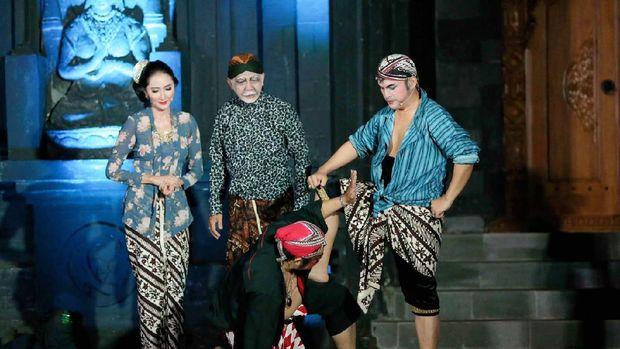 Pertunjukan Ketoprak Virtual Persembahan Rumah Budaya Nusantara Puspo Budoyo