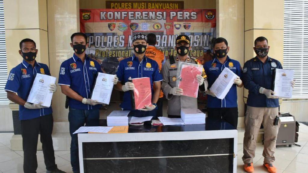 Polisi Limpahkan Kasus Korupsi Eks Kadis PU Musi Banyuasin ke Kejaksaan
