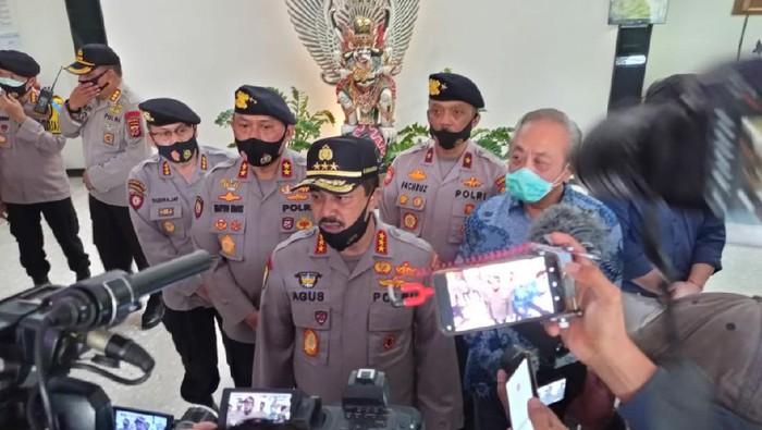 Polri pedomani protokol kesehatan saat pengamanan Pilkada Serentak.