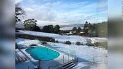Turun Salju Lagi Setelah 50 Tahun, Warga Tasmania Tak Tidur