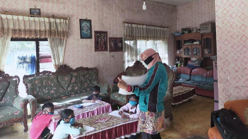 Susah Sinyal Internet, Guru SDN Gunungsari 4 Kota Batu Terapkan KBM Visit