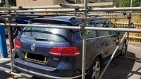 Cekcok Urusan Tempat Parkir, Tetangga Kerangkeng Mobil dengan Pipa Besi
