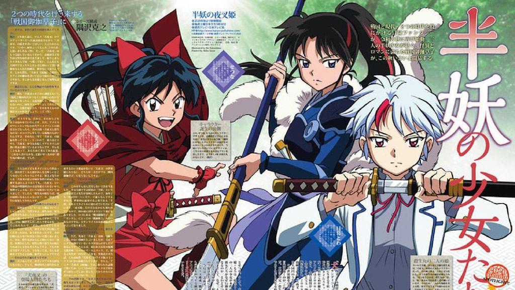 Sekuel Manga Inuyasa Segera Rilis, Ini Bocoran soal Putrinya