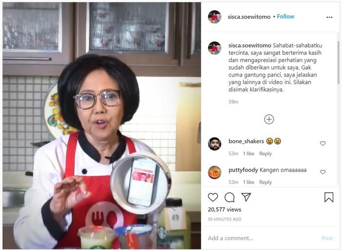 Promo Gofood Alasan Di Balik Sisca Soewitomo Gantung Panci