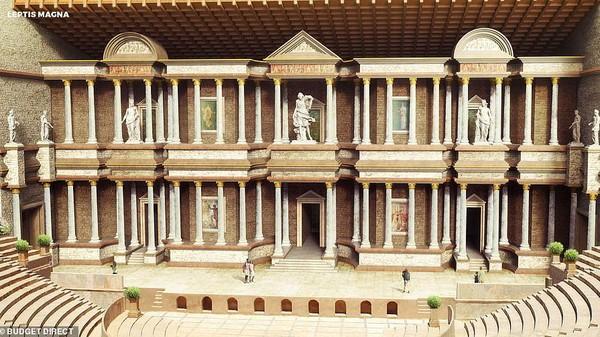 Leptis Magna, sebuah kota kuno Libya yang dibangun pada abad ke-7 oleh Septimius Severus. Salah satu kota kuni peninggalan Kerajaan Roma yang disebut paling indah (dok BudgetDirect)