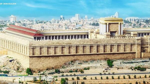 Secara digital, para arsitek dan engineer itu menghidupkan kembali sejumlah situs sejarah UNESCO yang telah hancur kembali ke masa jayanya. Contohnya seperti kota kuno Yerusalem yang jadi rumah Masjid Al Aqsa ini (dok BudgetDirect)