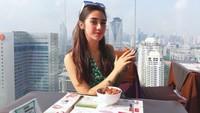 Momen Kulineran Syahra Larez, Mantan Cantik Rizky Billar
