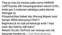 Kata Gojek soal Warga Surabaya yang Diteror Makanan Tak Dipesan