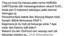 Cerita Teror Makanan di Surabaya yang Viral