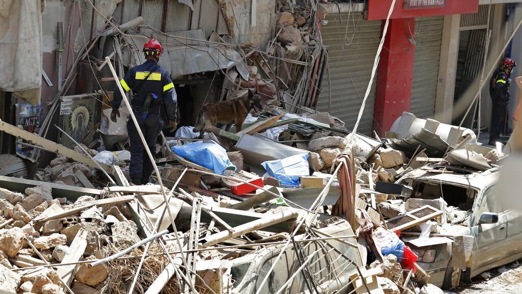 Penyidik Temukan Ruang Bawah Tanah di Lokasi Ledakan di Lebanon