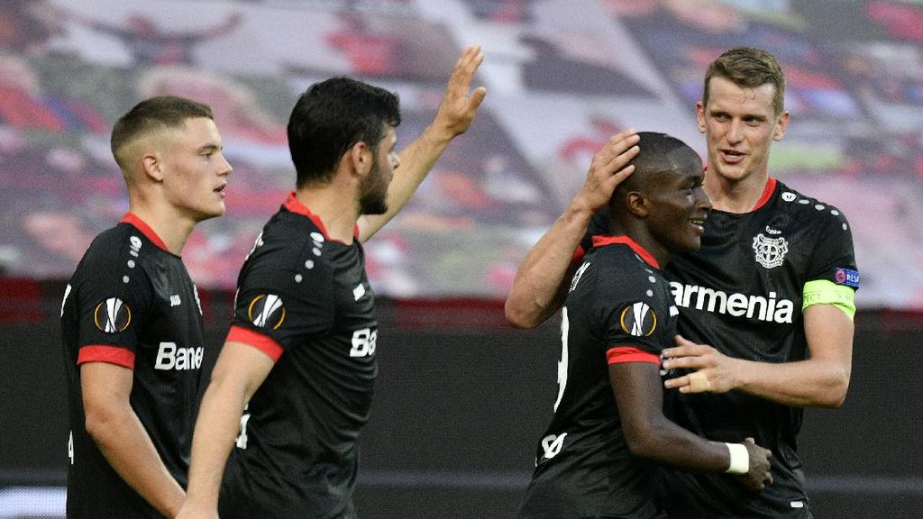 Liga Europa: Leverkusen Pede Kalahkan Inter