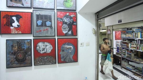 Lokasi ini diberi nama Galei Kreatif Perupa Jakarta Raya.