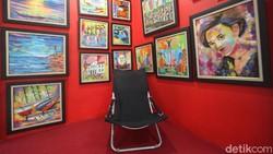 Begini Jadinya Kios Pasar Disulap Jadi Galeri Seni