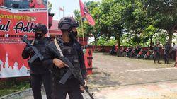 Pasca Teror Bom Molotov, Kantor DPC PDIP Cianjur Dikawal Brimob