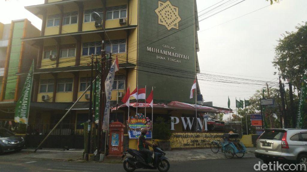 Gedung Muhammadiyah Jateng Lockdown Usai 5 Orang Kena COVID-19