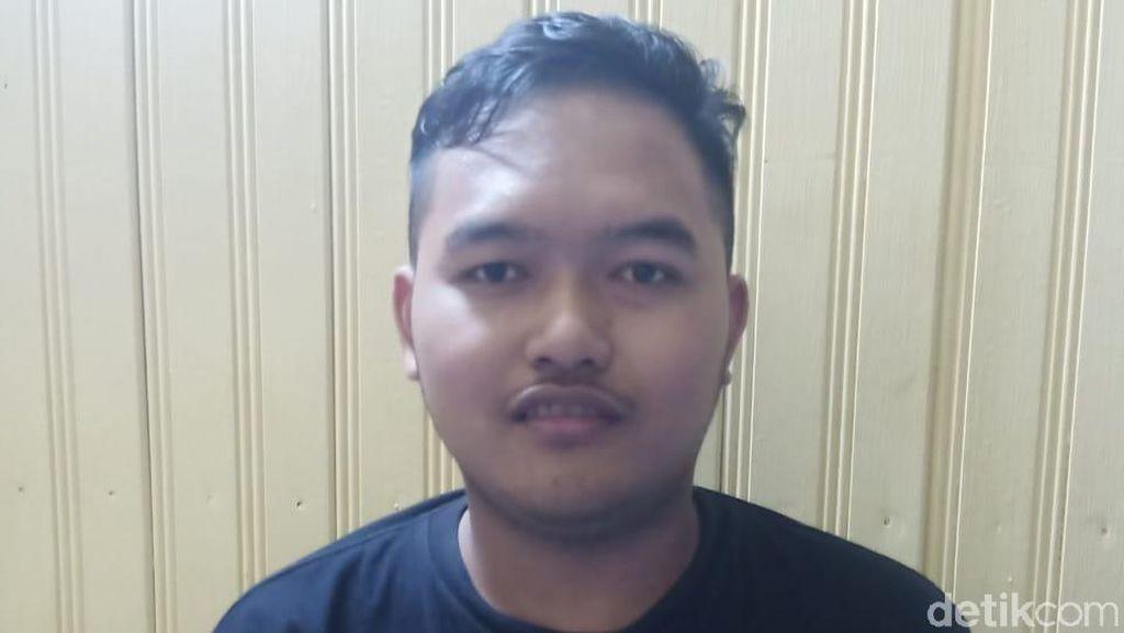Potret Gilang Predator Fetish Pocong Dibungkus di Kapuas