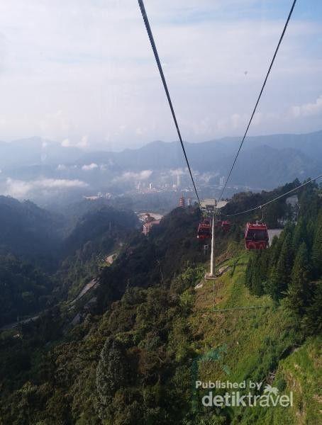 Gondola di Genting Highlands Malaysia