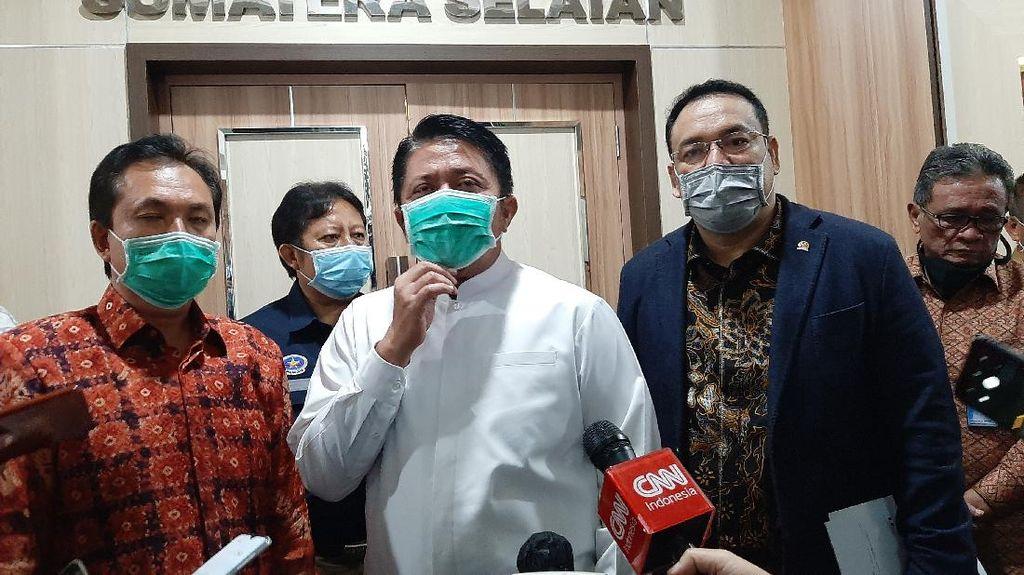 Gubernur Dukung KAI Sumsel Konversi Penggunaan Solar ke LNG