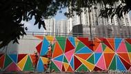 Jakarta Berhias Menyambut Hari Merdeka
