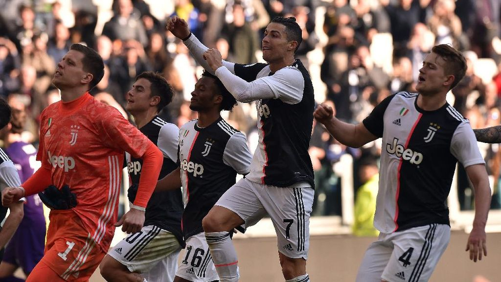 Szczesny Pede Ronaldo Bisa Hat-trick di Laga Juventus Vs Lyon