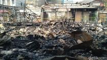 Ketua RT: 245 Kios Terbakar di Pasar Timbul Tomang Jakbar