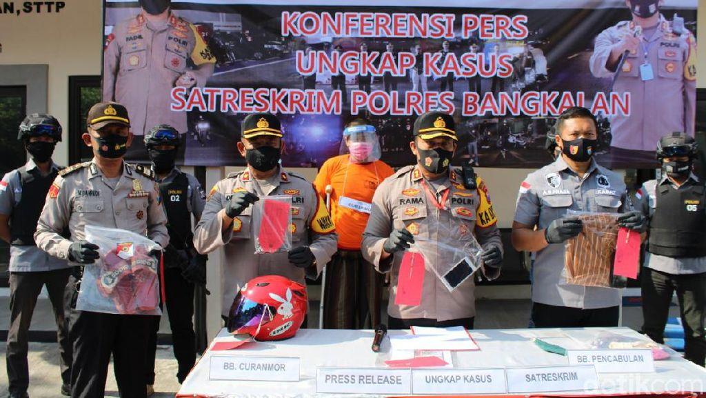 Polisi Amankan Kepala Sekolah yang Nyaris Perkosa Guru TK di Bangkalan