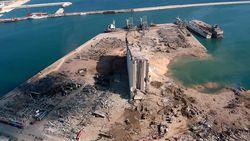 Mulai dari Kapal Pesiar Terbalik, Ini Foto Satelit Usai Ledakan di Lebanon