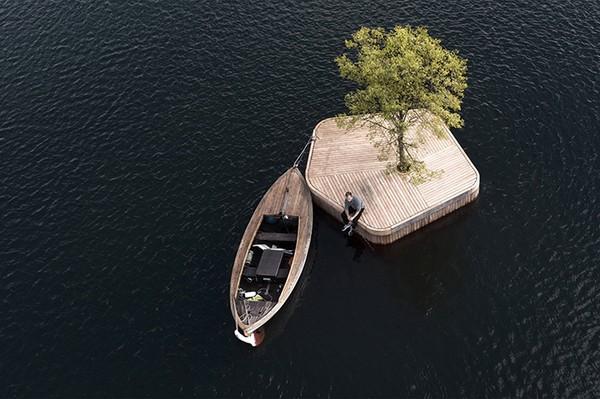 Untuk pembangunan pulau Kopenhagen, desainer mereka akan menggunakan teknik pembuatan perahu kayu tradisional. Struktur terapung sendiri fleksibel dalam penggunaannya, sedangkan material yang akan digunakan bersifat daur ulang dan berkelanjutan. Istimewa/dok.Bored Panda/Airflix