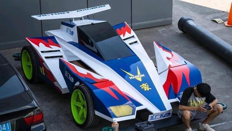 Mobil dimodifikasi menyerupai Tamiya