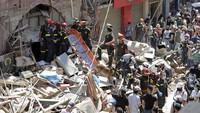 Presiden Lebanon Sebut Ledakan karena Serangan Rudal, 60 Orang Masih Hilang