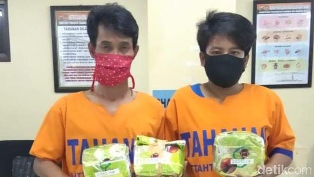 3 Kg Sabu Disita dari 2 Kurir Jaringan Malaysia di Jatim