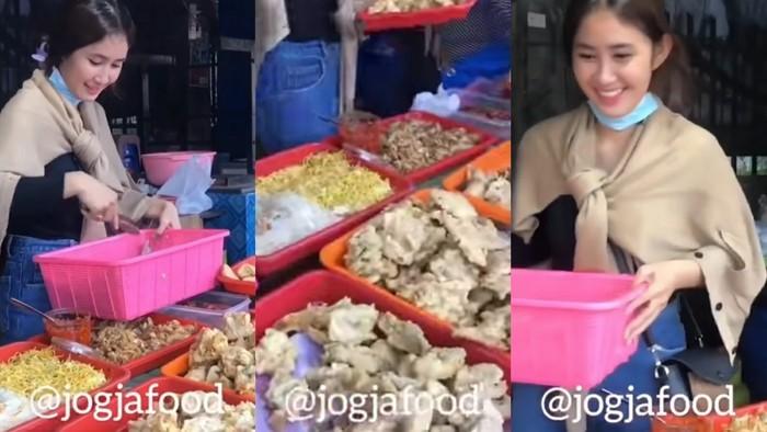 Penjual Makanan Cantik