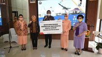Pertamina Salurkan Bantuan Dana Pendidikan untuk SMA Binaan TNI AU
