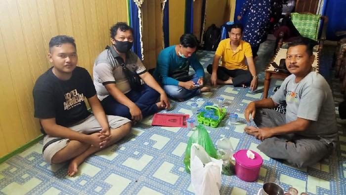 Polisi menangkap Gilang bungkus di Kapuas, Kalteng (dok. Polda Kalteng)