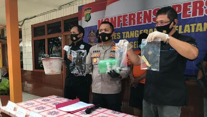Polisi rilis kasus pembakaran rumah di Ciputat