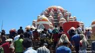 Jumatan Perdana di Masjid 99 Kubah Makassar yang Tak Diizinkan Gubernur