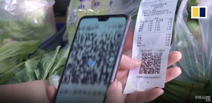 Semua Makanan di Pasar Ini Bisa Dilacak Informasinya