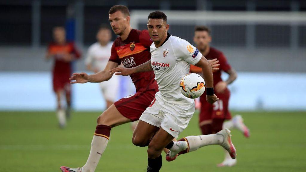 Video AS Roma Kalah 2-0, Sevilla Lolos ke Perempatfinal Liga Europa