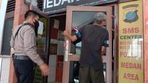 Tahanan di Polsek Medan Area Kabur dengan Jebol Dinding