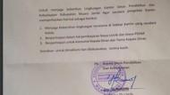 Sempat Viral, Surat Kadisdik di Jambi Minta Jatah Makan ke Kantin Ditarik