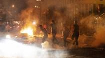 Usai Ledakan Besar, Demo Ricuh Pecah di Beirut