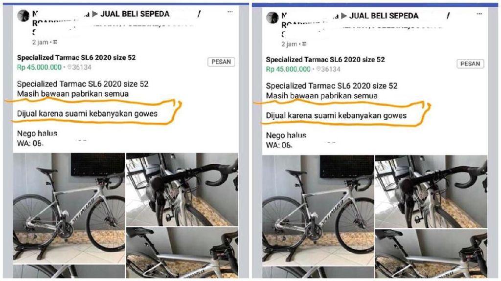 Terpopuler Sepekan: Viral Istri Niat Jual Sepeda karena Suami Kebanyakan Gowes
