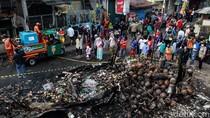 Kesaksian Warga soal Kebakaran di Pasar Timbul Tomang Jakbar