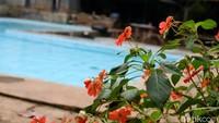 Pemilik kolam renang mengaku membeli tanah sejak tahun 2007 dengan harga yang murah. Kemudian dia berinisiatif untuk membuat kolam renang melihat potensi wisata di Gunung Manglayang. (Siti Fatimah/detikcom)