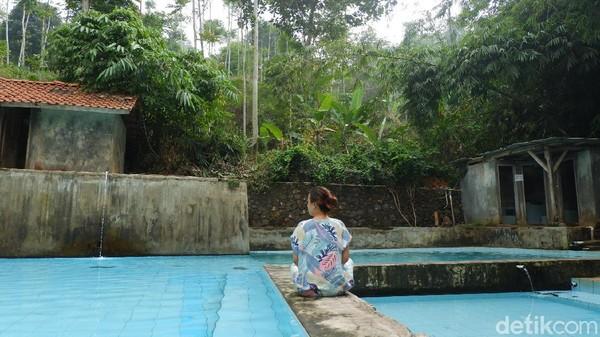 Tempat ini juga cocok untuk pengunjung yang ingin melepaskan lelah, suara gemercik airnya bisa membuat suasana menjadi tenang. (Siti Fatimah/detikcom)