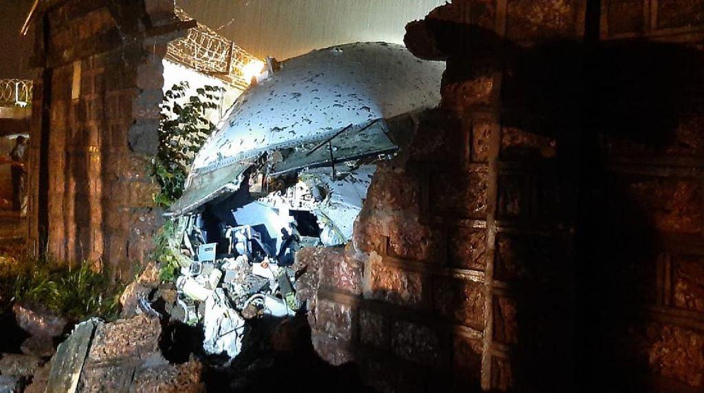 Korban Tewas Akibat Pesawat Tergelincir di India Jadi 17 Orang